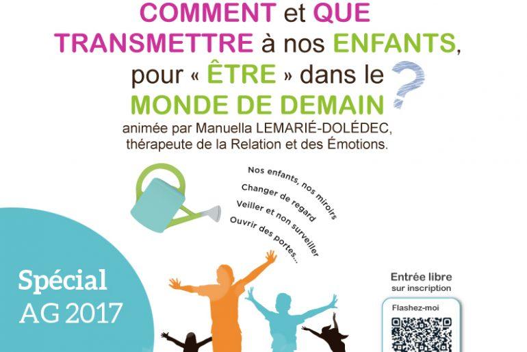 AG 2017 : une conférence pour les parents !