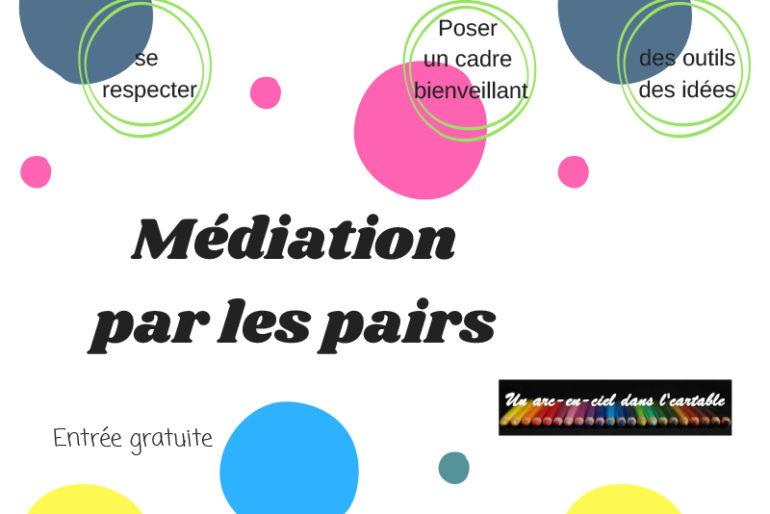 Conférence mutualisée entre Apel : «La Médiation des pairs» le 13 novembre à Montfort sur Meu