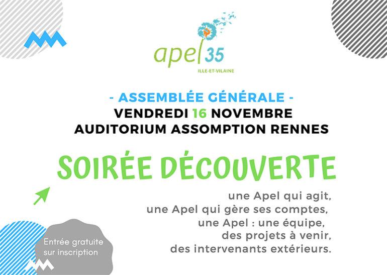 Assemblée Générale 2018 Apel 35 – Conférence