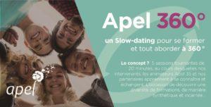 Apel 360° - un slow dating pour se former et tout aborder à 360° @ RENNES